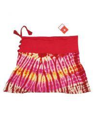 Minifalda de punto de algodón Mod Rojo