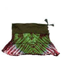 Minifalda de punto de algodón Mod Verde