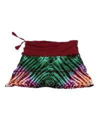 Minifalda de punto de algodón Mod Granate