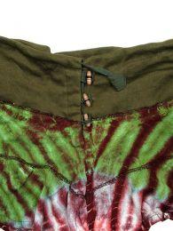 Minifalda de punto de algodón detalle del producto
