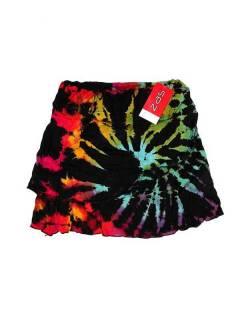 Minifalda hippie Tie Dye cruzada FAJU01 para comprar al por mayor o detalle  en la categoría de Bisutería Hippie Étnica Alternativa.