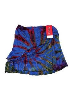 Minifalda hippie Tie Dye cruzada FAJU01 para comprar al por mayor o detalle  en la categoría de Artículos Artesanales.