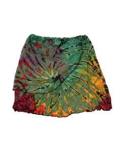 Hippie Tie Dye Mini-jupe courte FAJU01 pour acheter en gros ou en détail dans la catégorie Alternative Ethnic Hippie Jewellery.