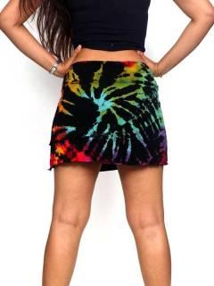 Faldas Hippie Étnicas - Minialda hippie de rayón FAJU01.