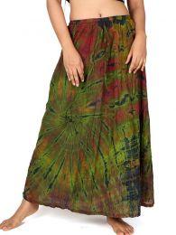 Faldas Hippie Boho Étnicas - Falda hippie de rayón FAJU03.