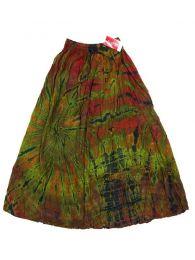 Faldas Hippies y Étnicas - Falda hippie de rayón FAJU03 - Modelo M06