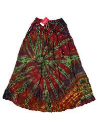 Faldas Hippie Boho Étnicas - Falda hippie de rayón FAJU03 - Modelo M07