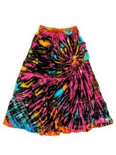 Faldas Hippies y Étnicas - Falda hippie de rayón FAJU03 - Modelo M09