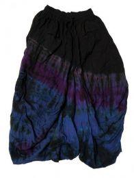 Faldas Hippie Boho Étnicas - Falda hippie de rayón FAJU04 - Modelo Morado 18