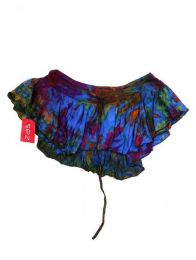 Minialda-pantalón hippie Mod Azul