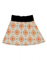 Minifalda hippie 60% expandex Mod Tierra
