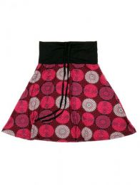 Falda que también puede Mod Rojo