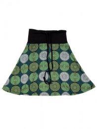 Falda que también puede Mod Verde