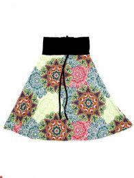 Falda larga por debajo de Mod Verde
