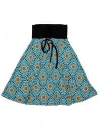 Falda larga por debajo de Mod Azul
