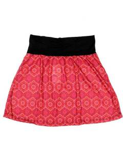 Hippie short skirt with mandala print, to buy wholesale or detail in the Alternative Ethnic Decoration category. Incense and Displays | ZAS Hippie Store. [FASN18]