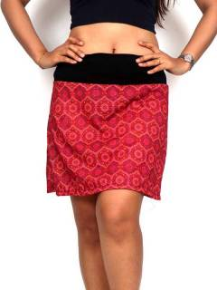 Hippie and Ethnic Skirts - Hippie short skirt with mandala print [FASN18] to buy wholesale or detail in the Hippie Clothing for Women category.
