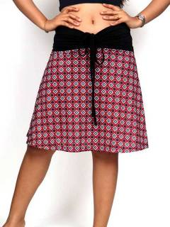 Hippie and Ethnic Skirts - Hippie skirt with mandala print [FASN24] to buy wholesale or detail in the category of Hippie Clothing for Women.