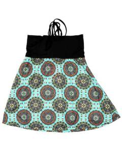 Ethnic Hippie Skirts - Skirt you can also FASN25 - Blue Model