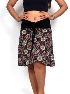 Faldas Hippie Étnicas - Falda que también puede FASN26.