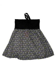 Hippie skirt with flower print, to buy wholesale or detail in the category of Ethnic Hippie Alternative Jewelry and Silver | ZAS Online Store. [FASN27]
