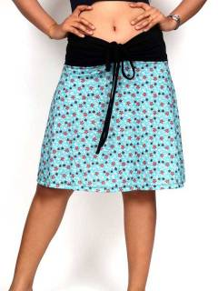 Hippie and Ethnic Skirts - Hippie Skirt with flower print [FASN27] to buy wholesale or detail in the category of Hippie Clothing for Women.
