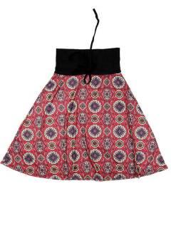 Ethnische Hippie-Kleider - Kleid, das auch FASN29-T - Red Model