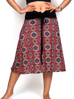 Ethnic Hippie Skirts - Hippie long skirt with mandala print [FASN29] to buy in bulk or in detail in the category of Alternative Hippie Clothing for Women.
