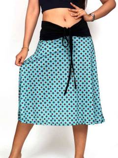 Ethnic Hippie Skirts - Hippie long skirt with mandala print [FASN30] to buy in bulk or in detail in the category of Alternative Hippie Clothing for Women.