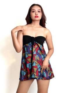Hippie Top avec imprimé ethnique FASN32-T pour acheter en gros ou détail dans la catégorie Vêtements Hippie Femme | Magasin alternatif ZAS.