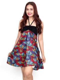 Vestido Hippie con estampado Etnico,  para comprar al por mayor o detalle  en la categoría de Ropa Hippie de Mujer | ZAS Tienda Alternativa. [FASN33-V]