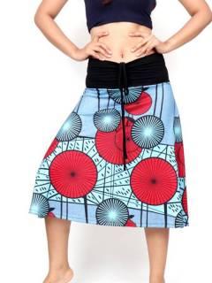 Gonna lunga hippie con stampa etnica FASN35 da acquistare all'ingrosso o dettaglio nella categoria di abbigliamento hippie da donna | Negozio alternativo ZAS.