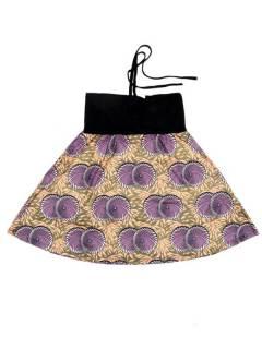 Faldas Hippies y Étnicas - Falda que también puede FASN36 - Modelo Morado