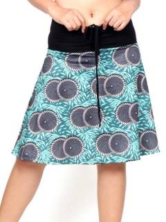 Hippie Skirt with Ethnic print, to buy wholesale or detail in the Jewelery and Silver Hippie Ethnic Alternative category | ZAS Online Store. [FASN36]