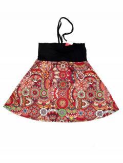 Falda Hippie con estampado Etnico FASN38 para comprar al por mayor o detalle  en la categoría de Outlet Hippie Etnico Alternativo | ZAS Tienda Hippie.