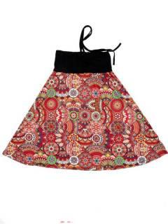 Vestidos Hippie Boho Alternativos - Vestido que también FASN39-V - Modelo 212