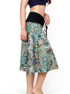 Faldas Hippies y Étnicas - Falda larga que también FASN39.