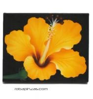Oil on canvas flower motifs. Wooden frame. FRLI1_B to buy wholesale or detail in the Handicrafts category.