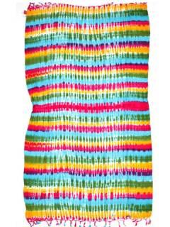 Schals und Sarongs - Mehrzweck-gefärbter Sarong FUBF01 - Modell 2121
