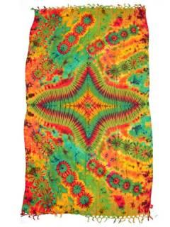Schals und Sarongs - Mehrzweck-gefärbter Sarong FUBF01 - Modell 2119