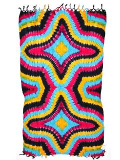 Schals und Sarongs - Mehrzweck-gefärbter Sarong FUBF01 - Modell 2118