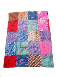Cachecóis e Pareos - patchwork Hippie parereo imprimir FUHC01.