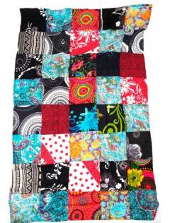 Printed patchwork hippie sarong., To buy wholesale or detail in the Alternative Hippie Complements and Accessories category | ZAS. [FUHC01]