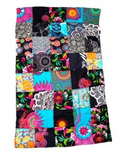 Printed patchwork hippie sarong. to buy wholesale or detail in the Bohemian Hippie Fashion Accessories category | ZAS [FUHC01].