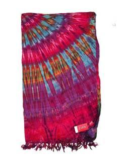 Pañuelos Fulares y Pareos - Pareo Playa vestido Tie Dye [FUJU01] para comprar al por mayor o detalle  en la categoría de Complementos Hippies Alternativos.