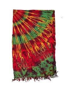 Cachecóis e Pareos - Vestido Pareo Beach Tie Dye [FUJU01] para comprar por atacado ou detalhes na categoria de Acessórios Alternativos Hippie.