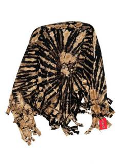 Tie Dye Multi-Purpose Triangular Shawl FUJU02 to buy in bulk or detail in the category of Ethnic Hippie Sandals.