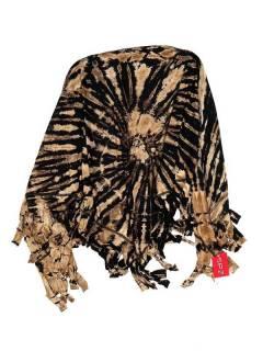 Écharpes et paréos - Châle triangulaire multifonction Tie Dye [FUJU02] à acheter en gros ou en détail dans la catégorie des accessoires hippies alternatifs.