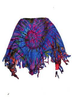 Pañuelos Fulares y Pareos - Chal Triangular Multiuso Tie Dye [FUJU02] para comprar al por mayor o detalle  en la categoría de Complementos Hippies Alternativos.