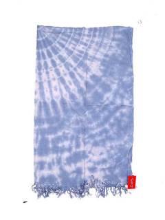 Pañuelos Fulares y Pareos - Pareo Playa vestido Tie Dye Bicolor [FUJU03] para comprar al por mayor o detalle  en la categoría de Complementos Hippies Alternativos.